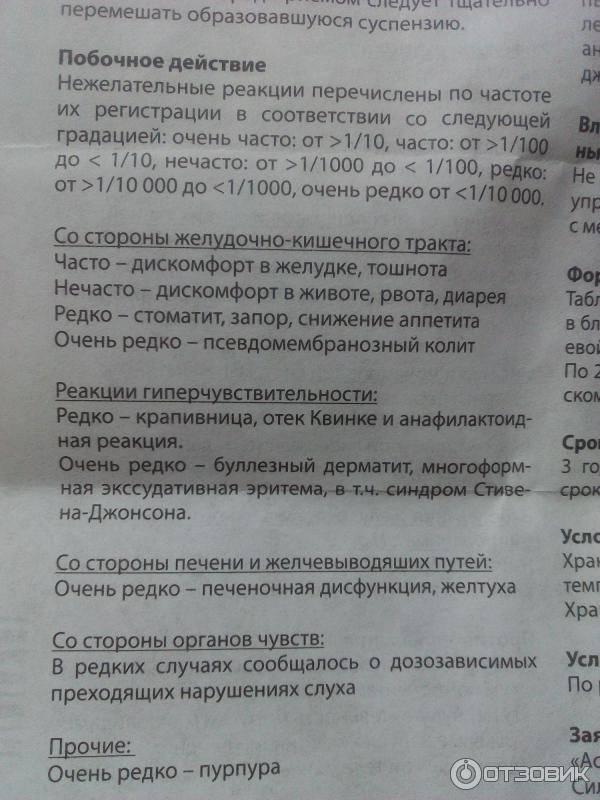 Вильпрафен гранулы для приготовления суспензии для приема внутрь 500 мг/5 мл флакон 20 г