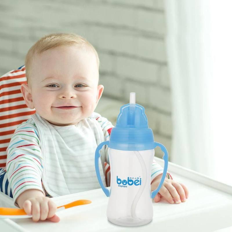 Когда и как научить ребенка пить из трубочки