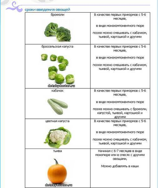 Цветная капуста при грудном вскармливании: можно ли есть в первый месяц при гв, рецепты при кормлению грудью