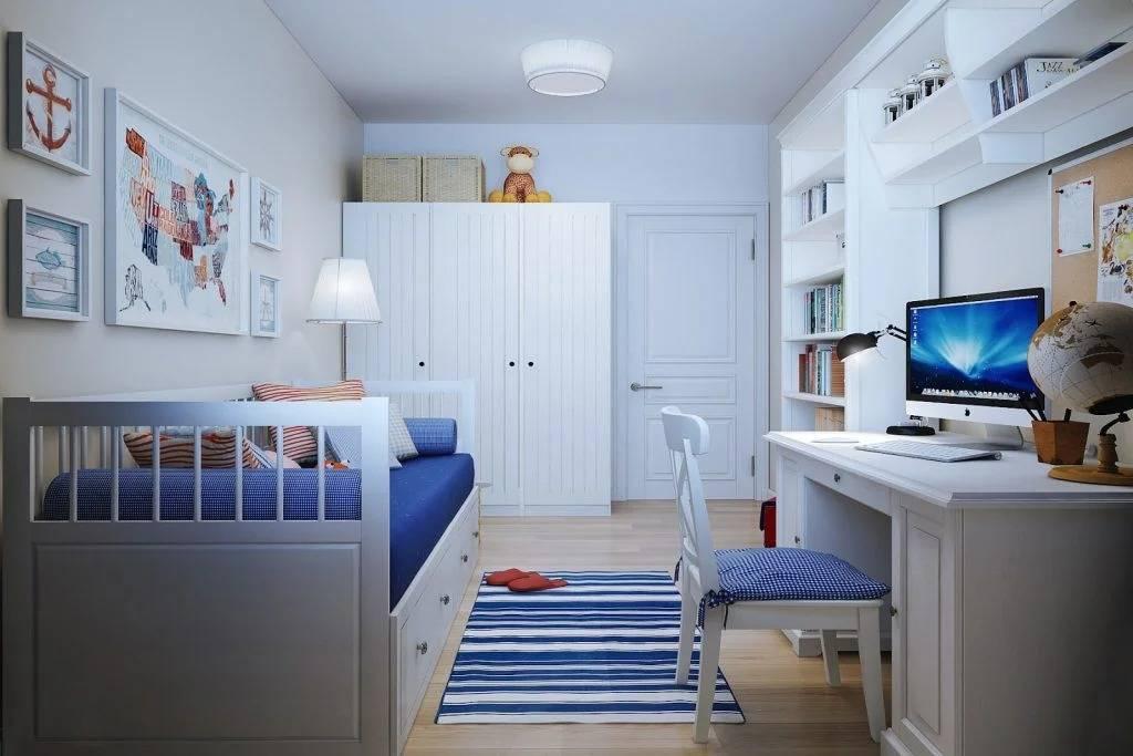 Детская комната в стиле ИКЕА: фото интерьера для мальчика и девочки (подростков)