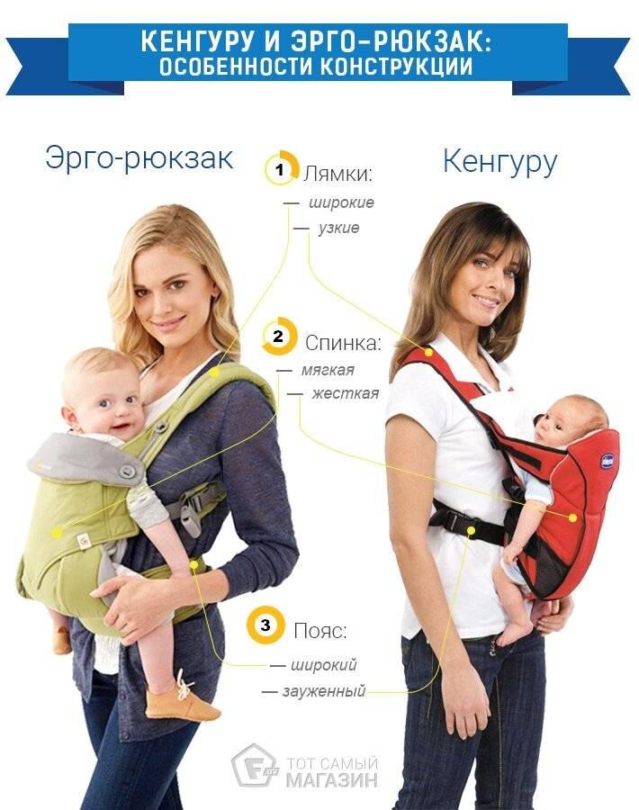 Эрго рюкзак, особенности конструкции приспособления, плюсы и минусы