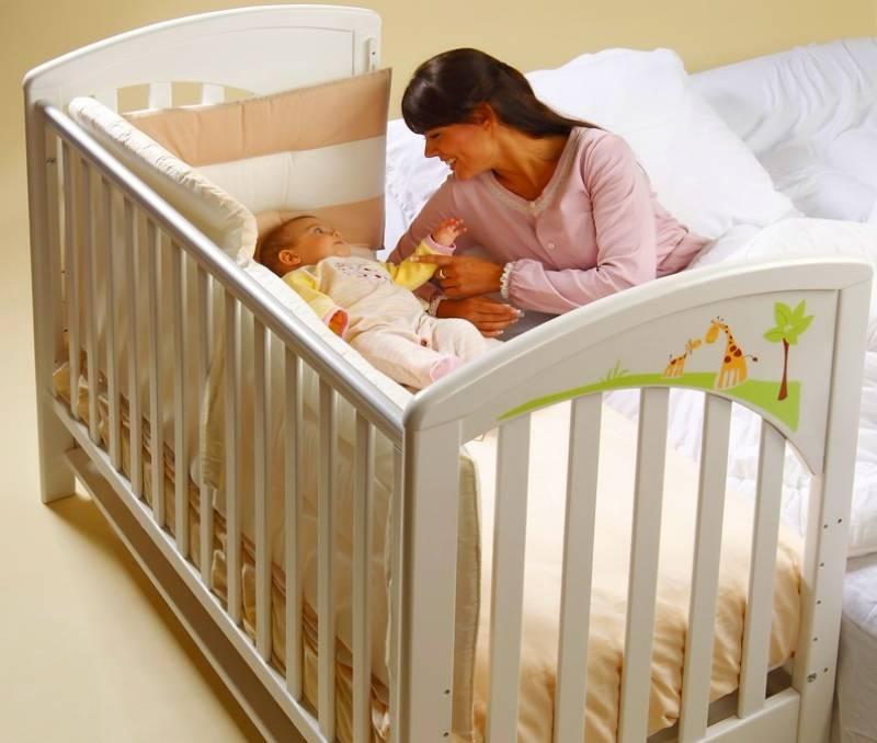 Лучшие приставные кроватки для новорожденных