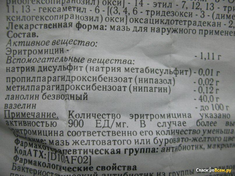 Синтомициновая мазь: инструкция по применению линимента, обзор аналогов, цена и отзывы — life-sup.ru