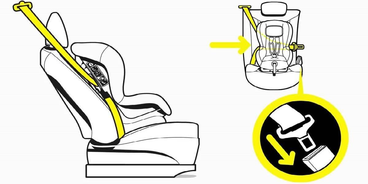 Как установить детское кресло, в какой части салона безопаснее?