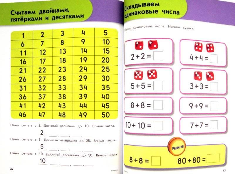 Как научить ребёнка быстро считать?