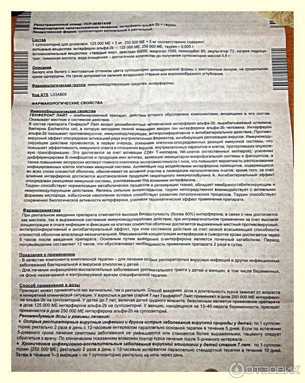 Кипферон - инструкция по применению, описание, отзывы пациентов и врачей, аналоги