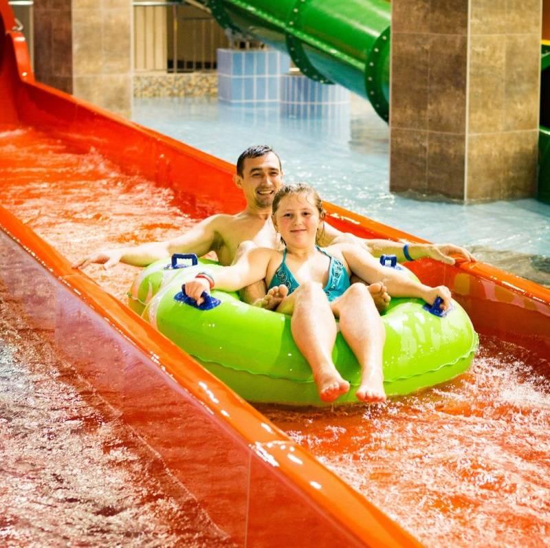 Со скольки лет детям можно в аквапарк