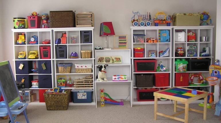 Детские игрушки: как и где хранить? - 88 фото примеров