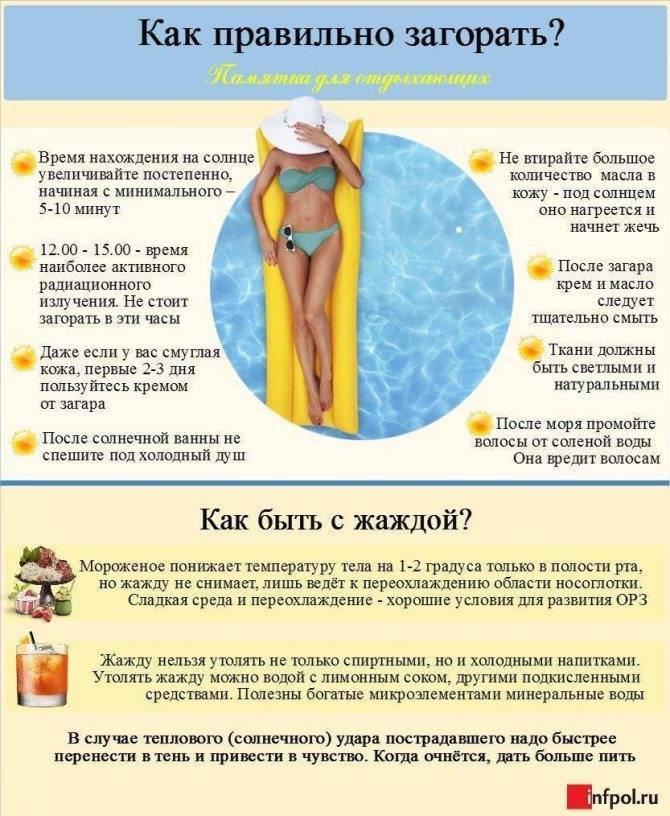 Как загорать при грудном вскармливании | правила и рекомендации