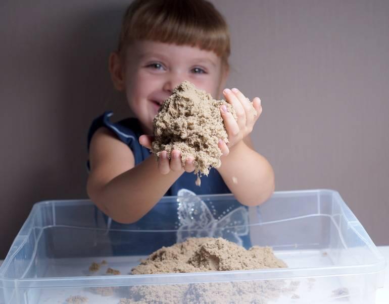 Чем космический песок отличается от кинетического