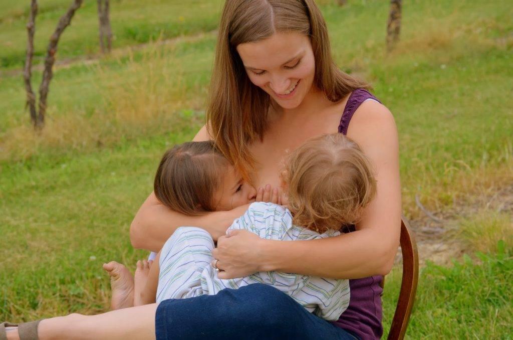 Группа поддержки грудного вскармливания «молочные реки»: тандемное кормление. часть 1