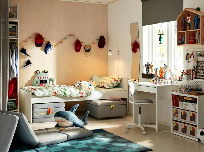 Детская комната в скандинавском стиле: характерные особенности, идеи дизайна