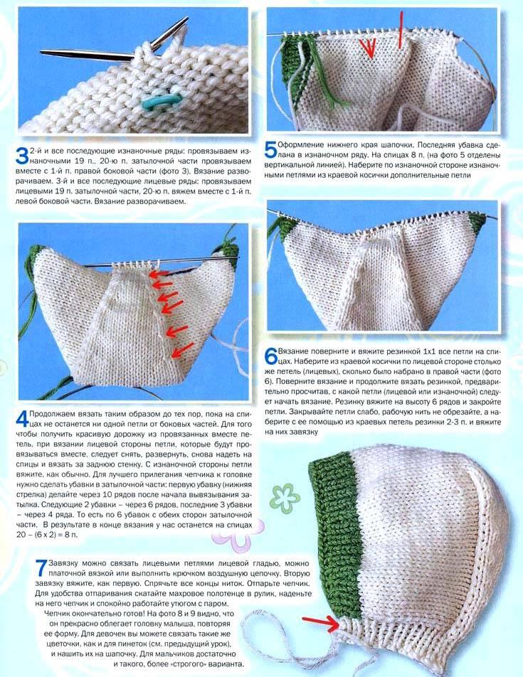 Пинетки спицами для новорожденных, 32 модели с описанием и мастер - классами,  вязание для детей