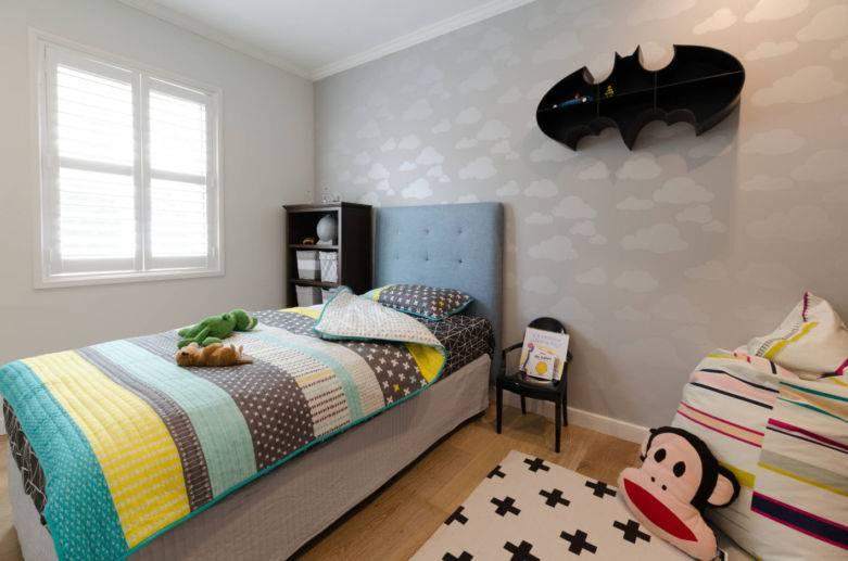 Детские обои для стен мальчиков: 6 цветовых решений