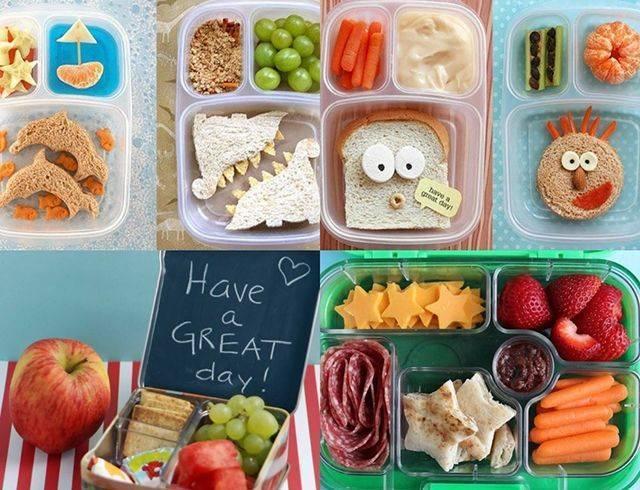 8 вариантов обедов ребенку в школу по правилам правильного питания