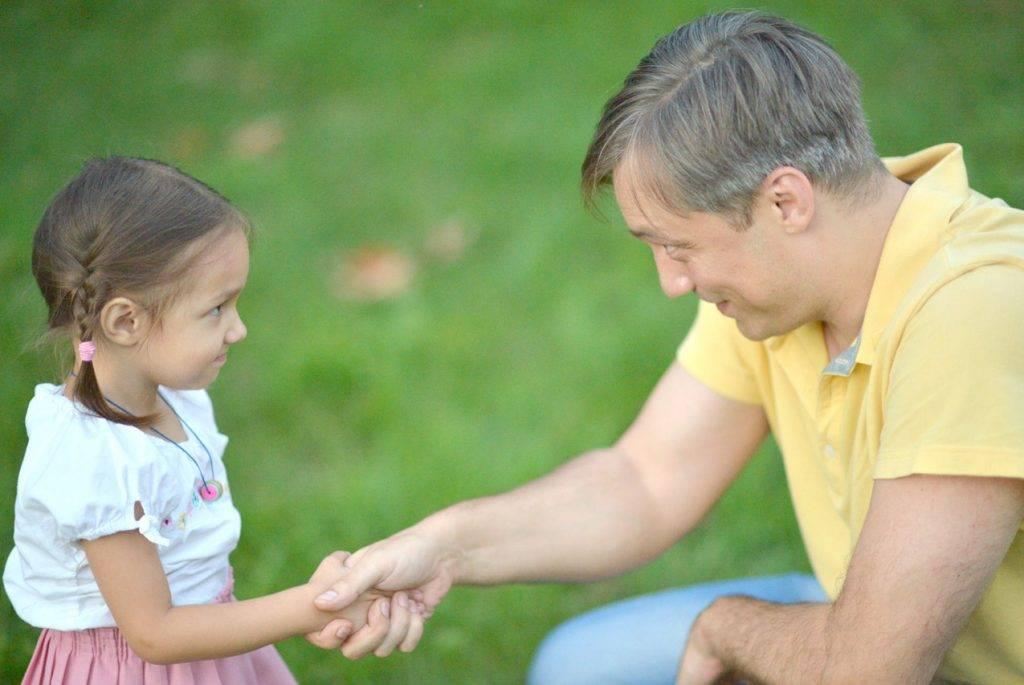 Ребенок и трудное слово «прости»