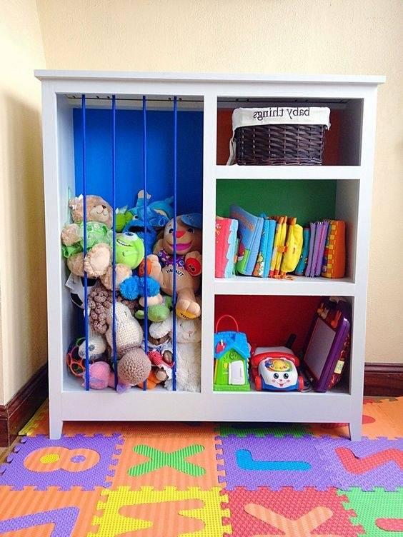 Как хранить детские игрушки: 5 правил и необычные идеи для хранения