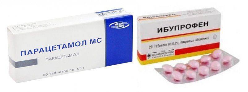 """Можно ли давать """"нурофен"""" и """"парацетамол"""" одновременно: совместимость препаратов и показания к применению"""