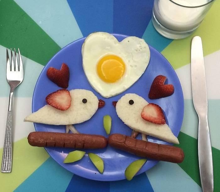 Завтрак для деток 1-1.5 года - готовим малышам - страна мам