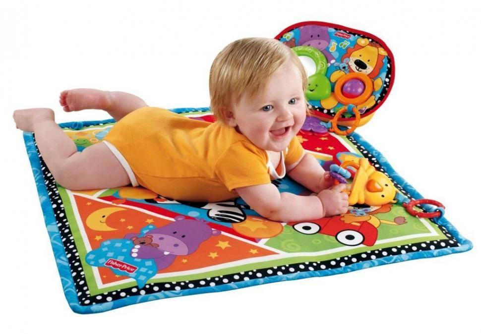 10 лучших развивающих ковриков