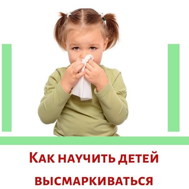 Как научить малыша сморкаться: осваиваем важный для здоровья навык играя