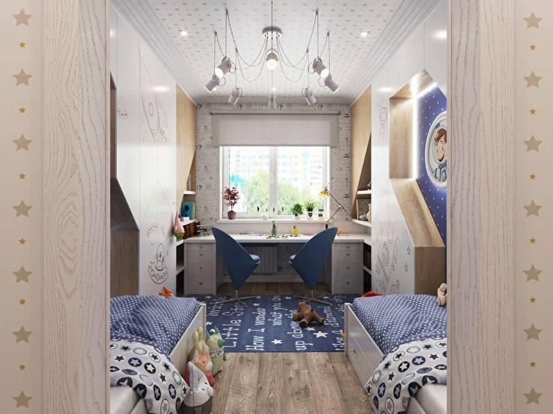 Идеи дизайна детской комнаты в хрущевке