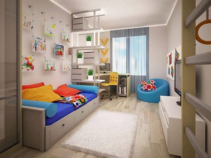Дизайн детской комнаты для мальчика (90 фото)