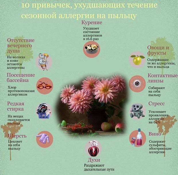 Сезонная аллергия (поллиноз) - причины, симптомы, лечение и диагностика сезонной аллергии в клинике целт