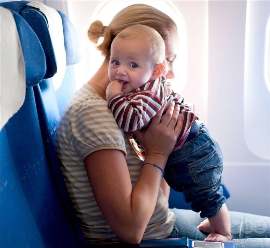 Чем занять себя и ребенка в полете