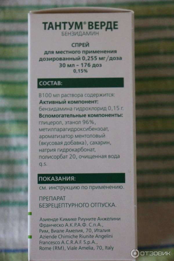Тантум верде аналоги и цены - поиск лекарств