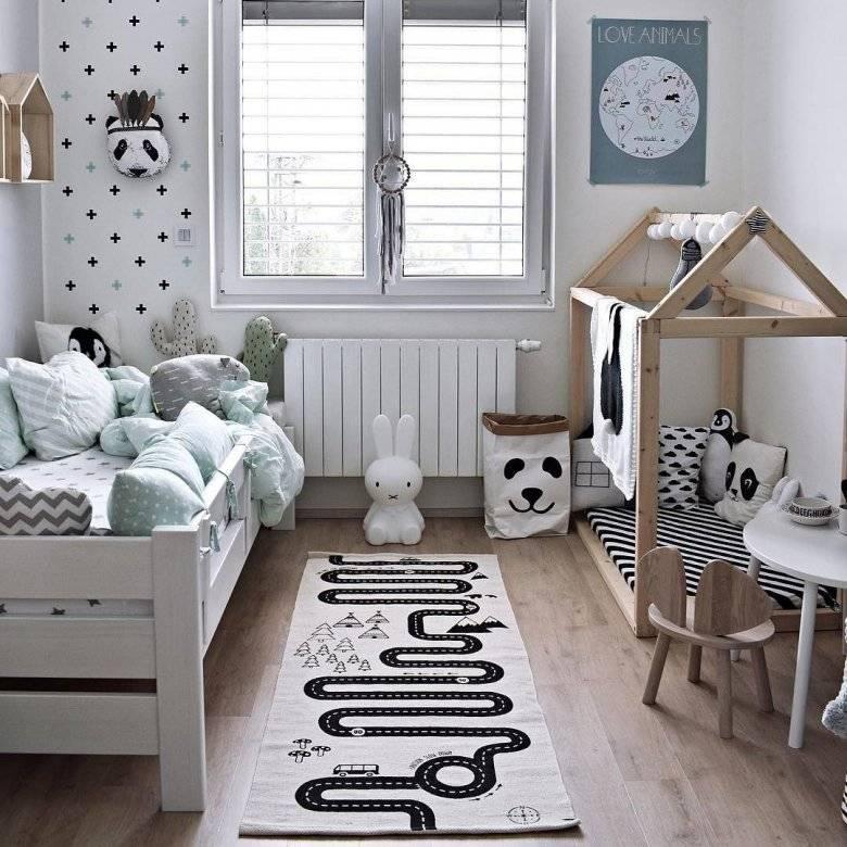 Детская в скандинавском стиле - основа - дизайн детской комнаты