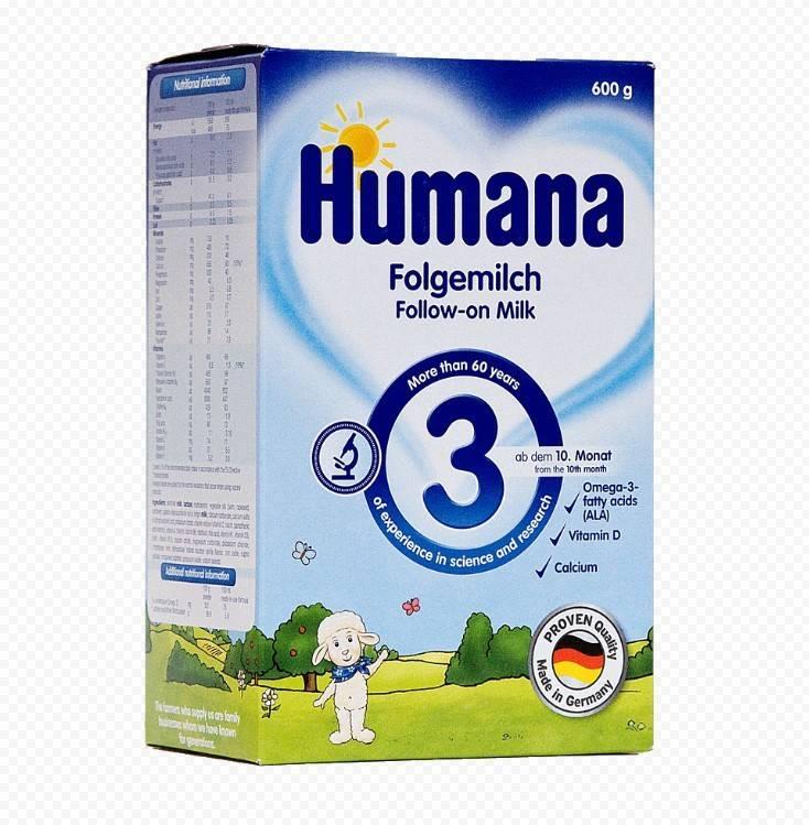Детская смесь humana: отзывы, цена, ассортимент, состав