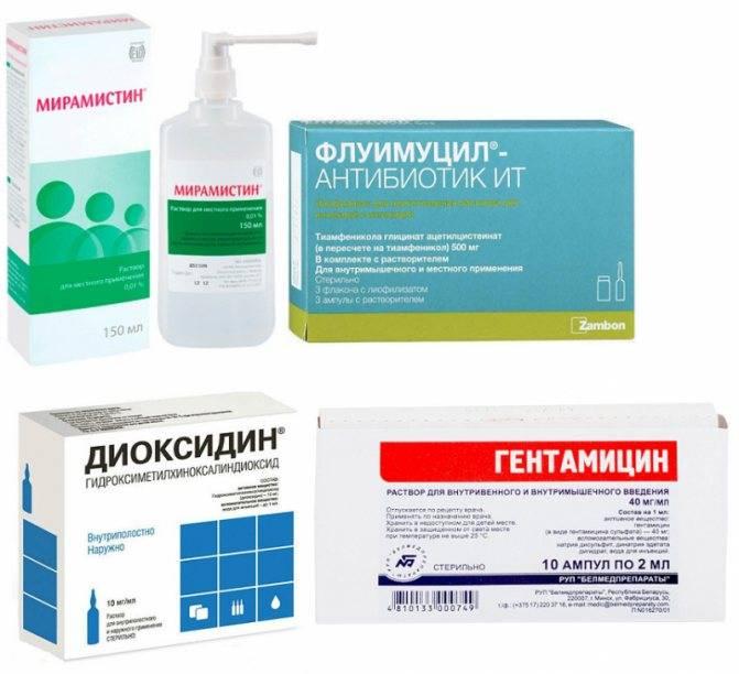 Ингаляции с диоксидином для детей при насморке и кашле: инструкция по применению