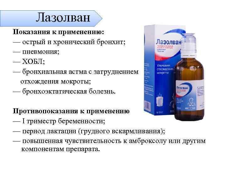 Можно ли принимать лазолван рино при беременности? как применять препарат?