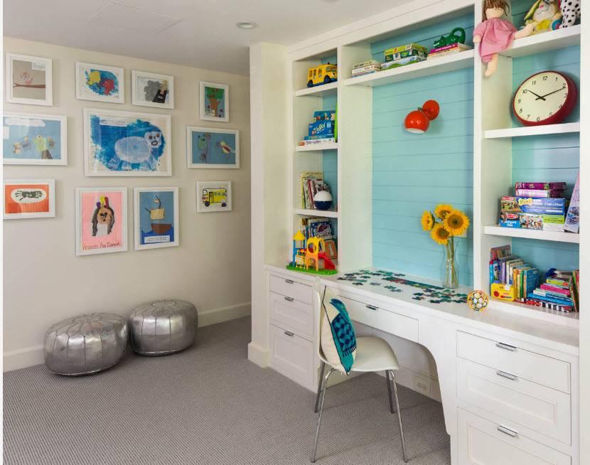 Интерьер детской комнаты: 111 фото и 7 идей