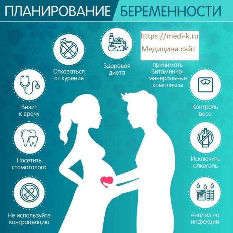 Все, что нужно знать о планировании беременности. как подготовиться к зачатию ребенка?
