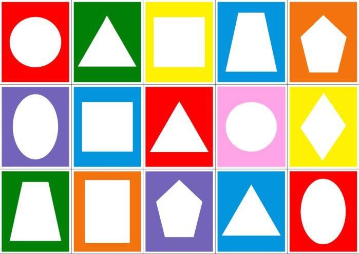 Геометрические фигуры для детей: методика обучения с занятиями и упражнениями   мыслим и говорим   vpolozhenii.com