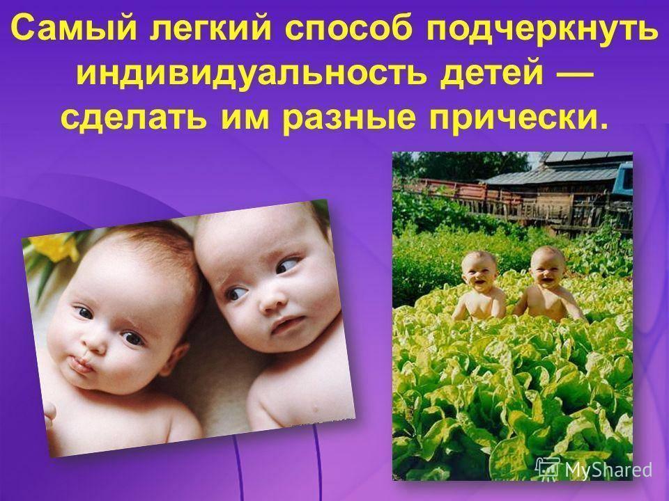 Воспитание детей близнецов: особенности и советы