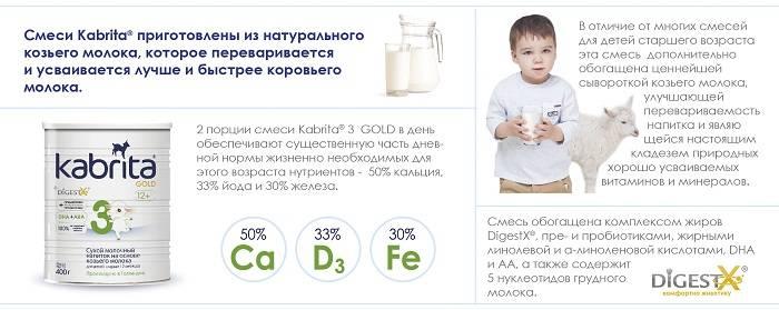 Обзор детских смесей без пальмового масла