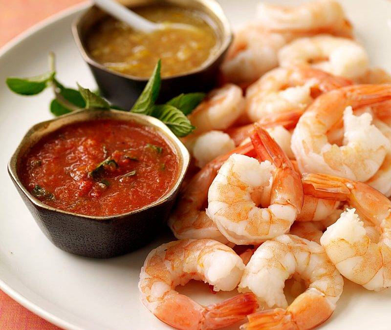 Креветки при грудном вскармливании: можно ли маме пробовать морепродукты?