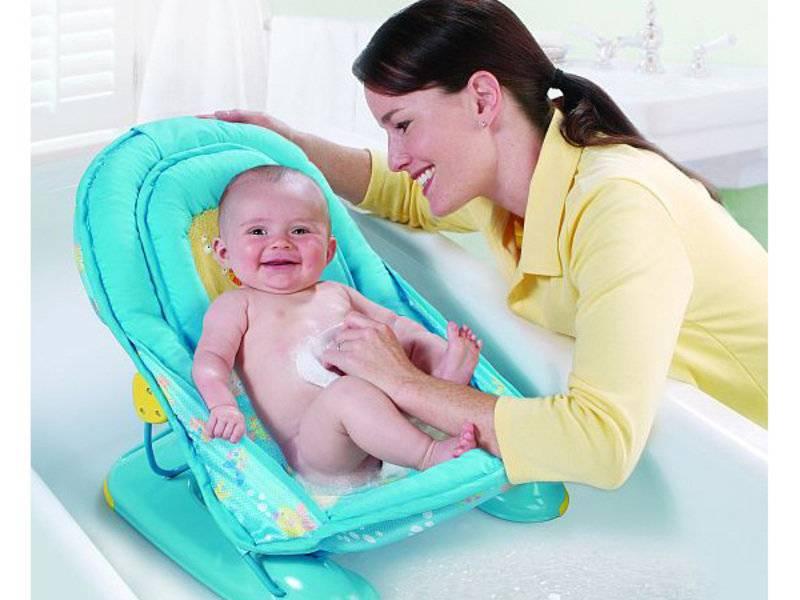 Горка для купания: для какого возраста, как пользоваться и какая лучше для новорожденных (отзывы, фото и видео)