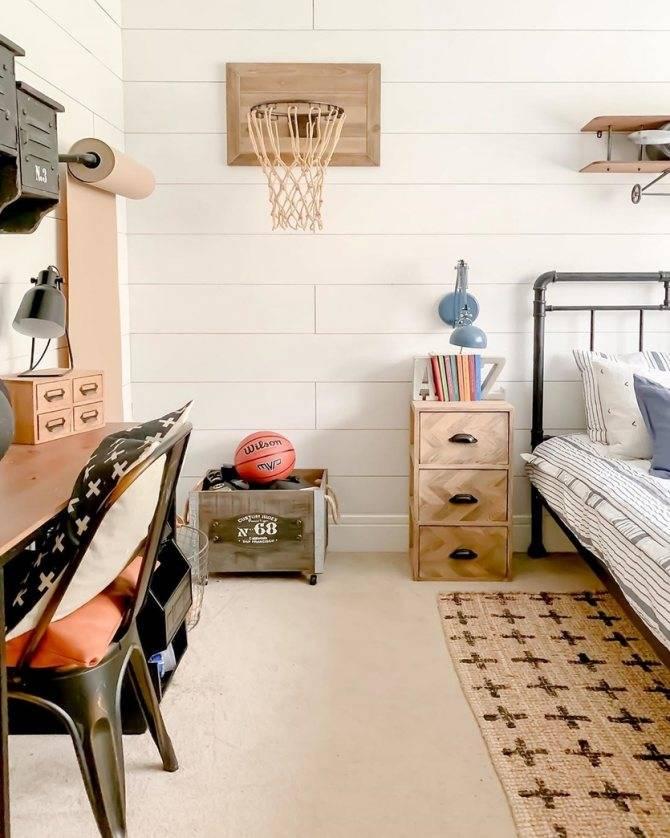 Комната в стиле лофт для мальчика-подростка: 8 фишек правильного оформления с фотографиями интерьеров, чтобы не ошибиться с дизайном детской, мебель, зонирование