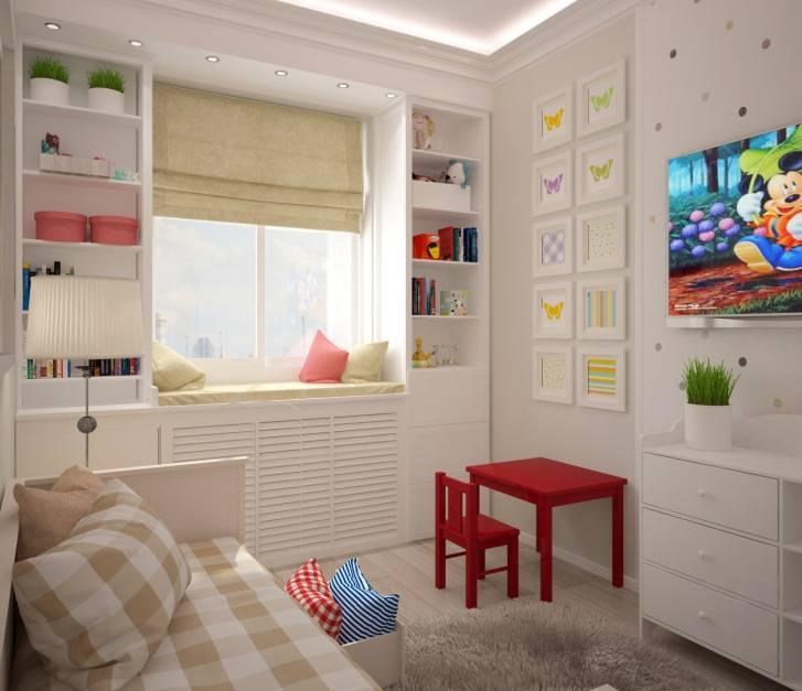 Детская 9 кв. м.: обустройство и планировка детской комнаты. 110 фото реальных вариантов отделки детской