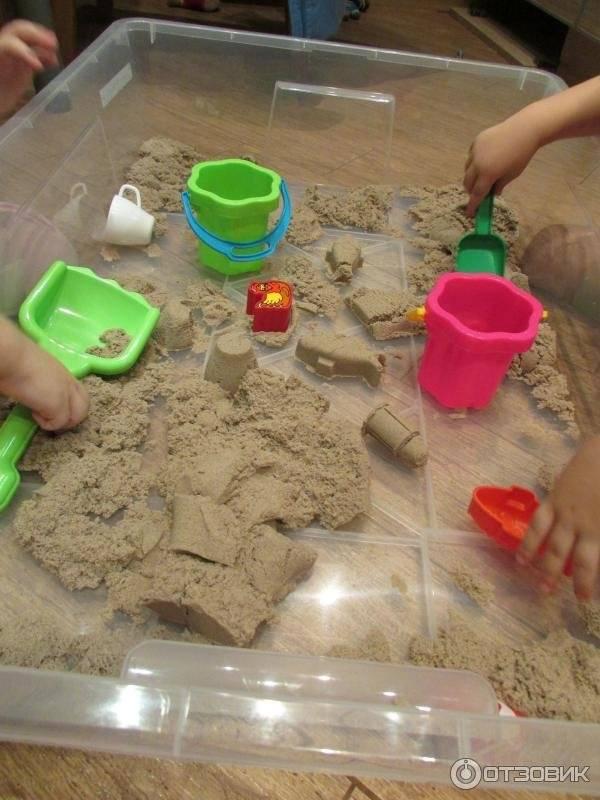 Слайм из кинетического песка своими руками: ингредиенты и рецепты