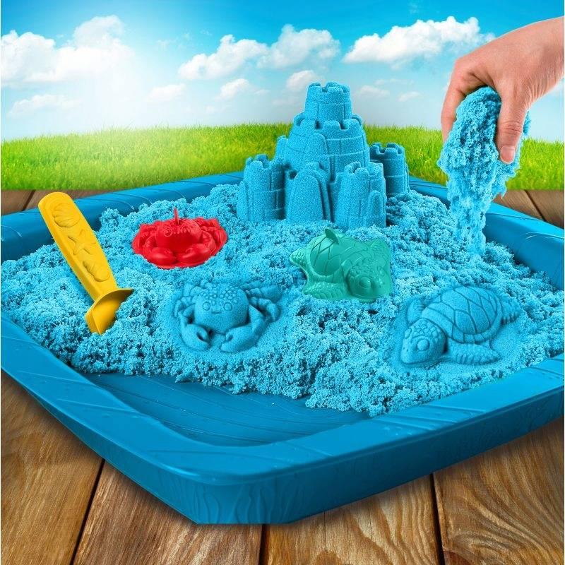 Кинетический песок для детей для занятий и творчества