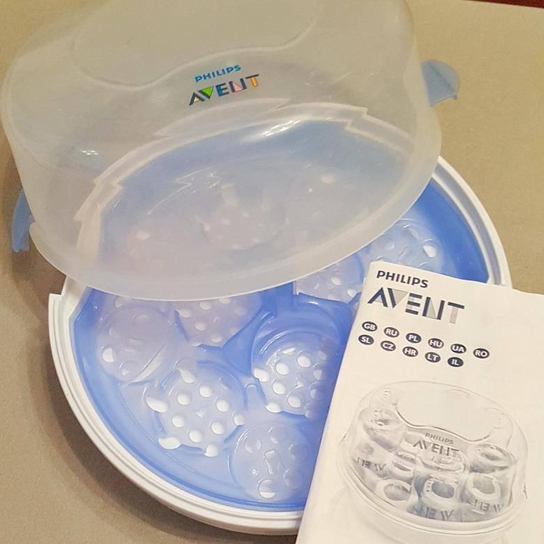 Как стерилизовать бутылочки для новорожденных в микроволновке
