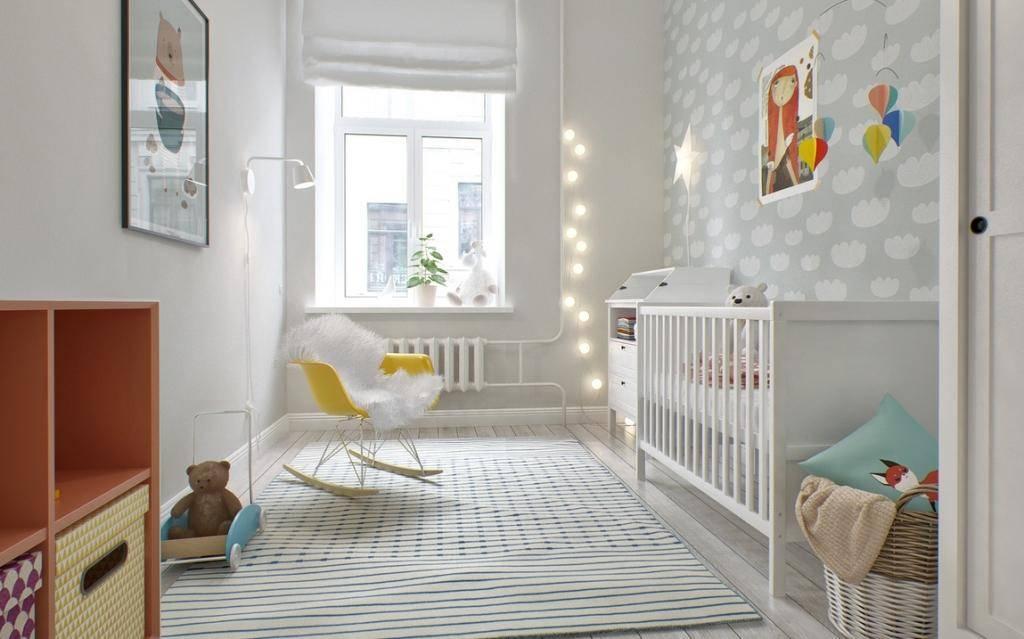 Детская комната в скандинавском стиле: 75 фото примеров интерьера