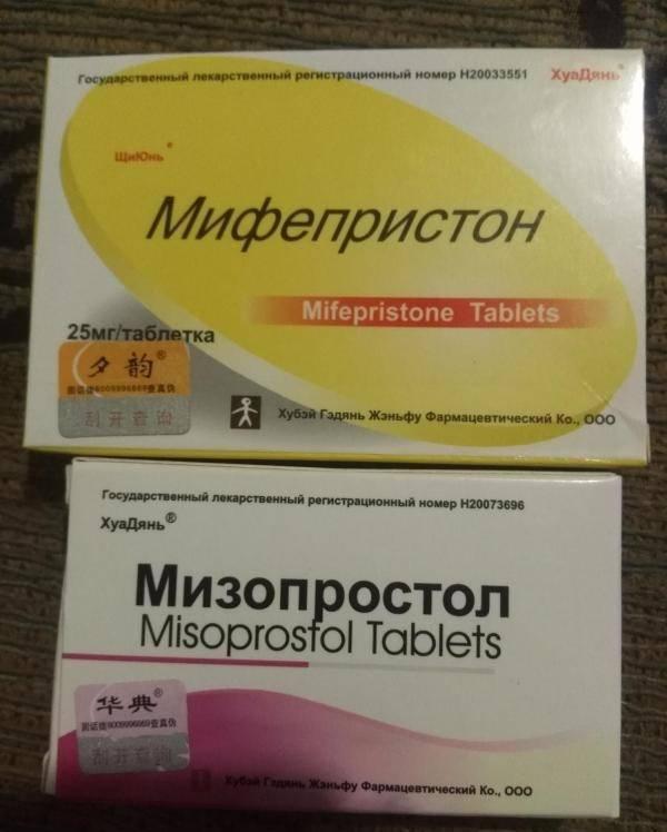 Инструкция по применению мифепристона и мизопростола для медикаментозного аборта.