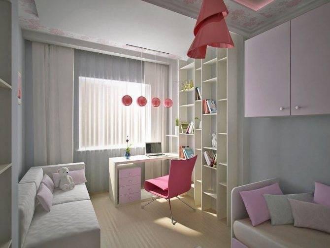 Фото и идеи оформления детской комнаты 9 кв м