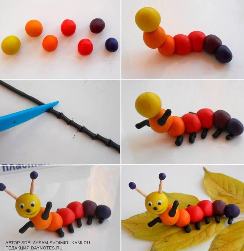 Поделки из пластилина -увлекательное занятие для развития вашего ребёнка.